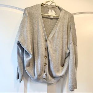 Aerie button down knit cardigan